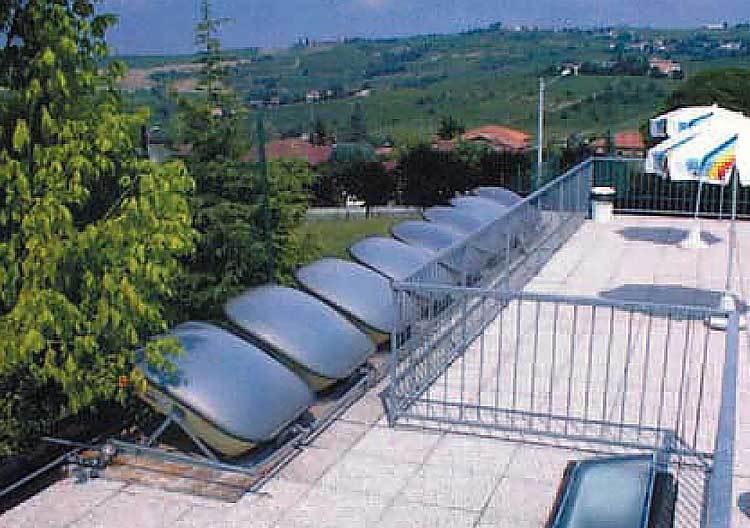 Calefacci n solar para spas y jacuzzies todo en energ a for Placas solares para calentar agua