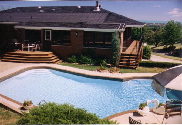 Climatizaci n de piscinas con colectores polipropileno for Climatizar piscina