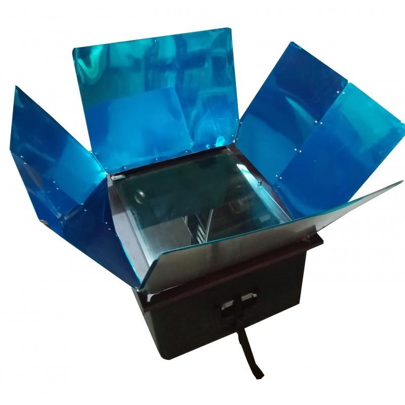 Horno Solar Portatil Con Reflectores Todo En Energia Solar