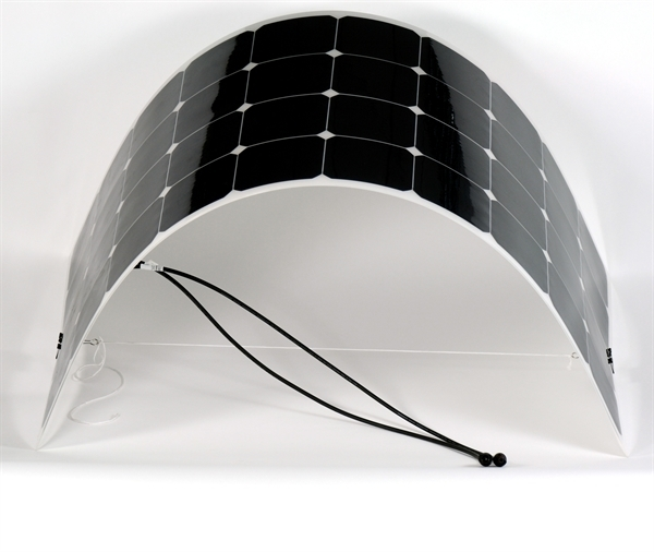 Flexible solar panel 100W - 12V - All in solar energy