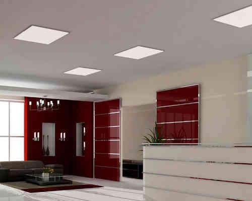 Iluminaci n led y bajo consumo todo en energ a solar for Plafones cuadrados de pared