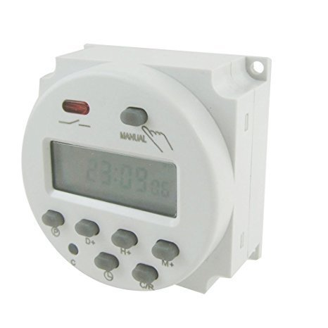 Programador digital 220V de pared