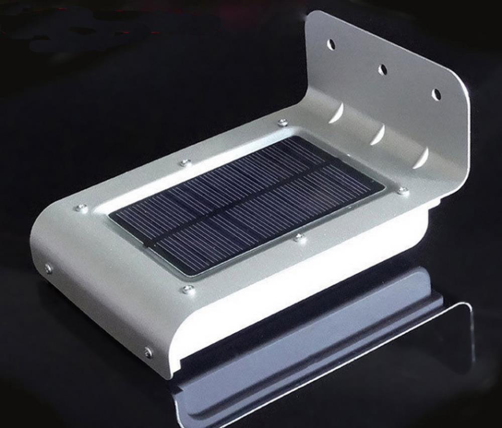 Luz led solar para exteriores con sensor todo en energ a for Luz de led para exterior