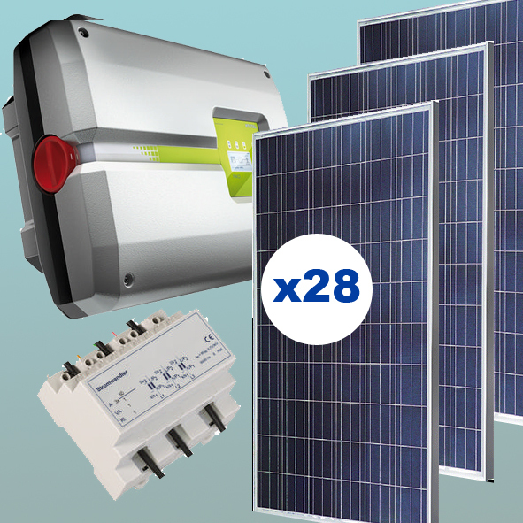 kit solar de 7 kw inyecci n 0 autoconsumo energ a solar. Black Bedroom Furniture Sets. Home Design Ideas