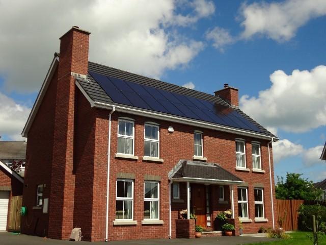 Soportes de integraci n para paneles solares sistema for Tejados solares