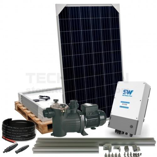 Sistema solar depuraci n de piscinas con bomba 1cv for Sistema ultravioleta para piscinas