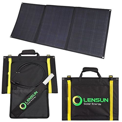 Panel solar flexible portátil de 100W 12V