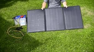 Panel solar flexible portátil de 100W 12V con regulador