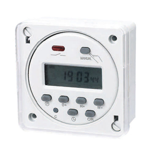 Cover for 12, 24 and 220V wall programmer