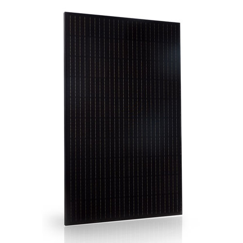 Black solar panel of 60 cells from 290 to 330W