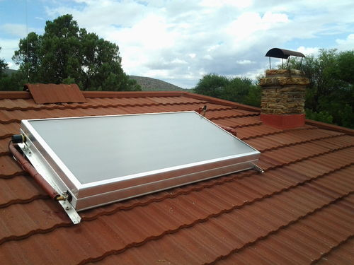 Solcrafte support for inclined roof