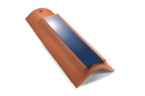 4W curve solar photovoltaic tile for your roof
